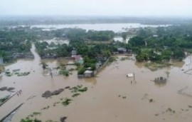 Floods caused by heavy rains in Haiti