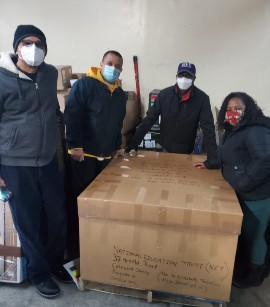Not missing a beat, the alumni association members of the Union of Jamaican Alumni Associations (UJAA) followed up with another shipment of devices to their schools.