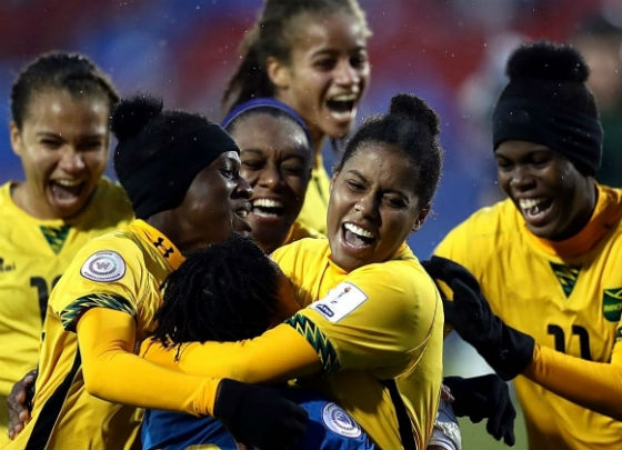 Jamaica's women celebrated World Cup qualification last year. Soccer's biggest stage awaits.