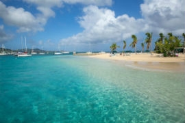 The beauty of the U.S. Virgin Islands awaits leisure travelers.