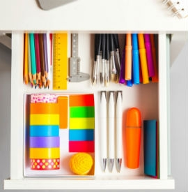 Arrange your tools in easy-to-find order. Photograph (c) mdbildes / stock.Adobe.com