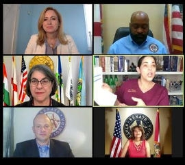 Federal, state, local leaders from Miami-Dade have called for testing, contact tracing, state-wide mask order, quarantining