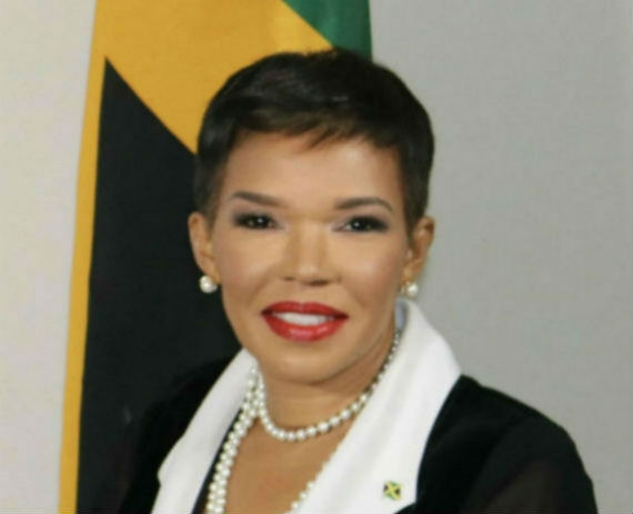 Jamaica's Ambassador to the United States, Her Excellency Audrey Marks