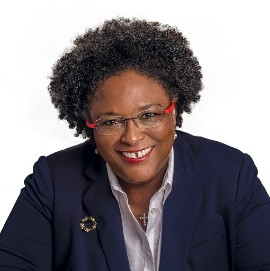 "Barbados Prime Minister Mottley will receive ""The Legacy Award"""