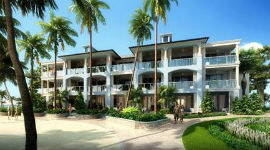 (The new Sandringham building at Sandals Royal Caribbean)